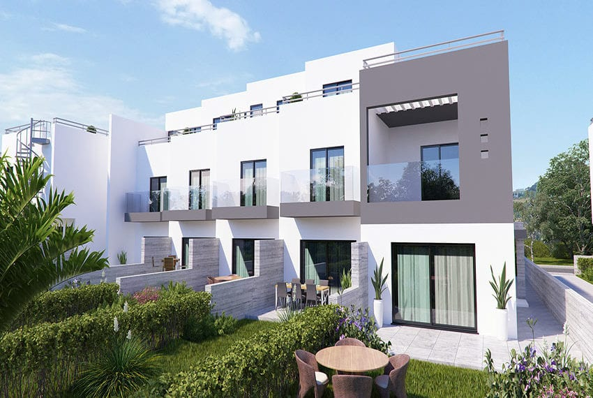 Town houses for sale in Cyprus, YEROSKIPOU-Paphos10