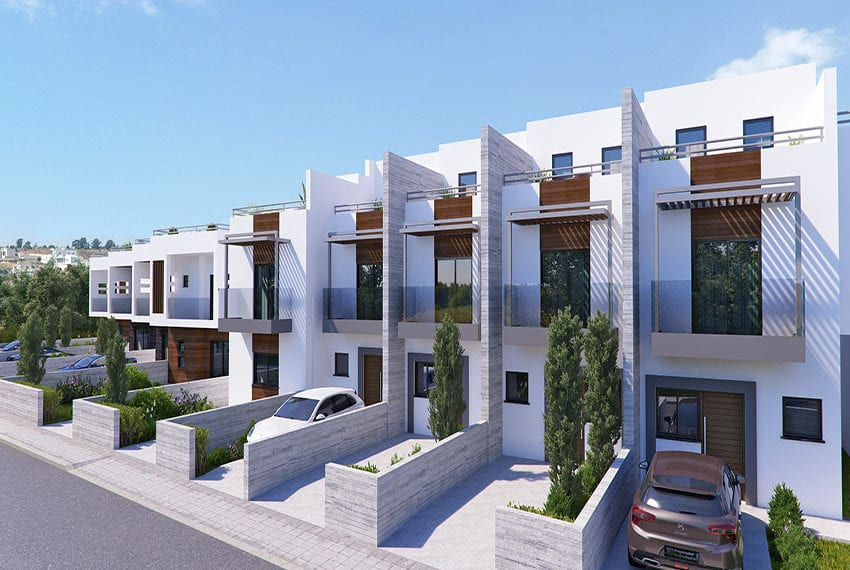 Town houses for sale in Cyprus, YEROSKIPOU-Paphos13