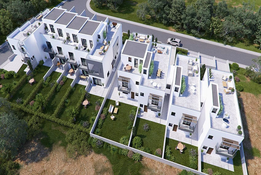 Town houses for sale in Cyprus, YEROSKIPOU-Paphos15