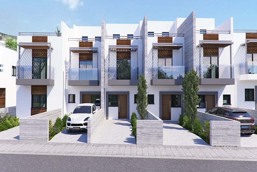 Town houses for sale in Cyprus, YEROSKIPOU-Paphos17