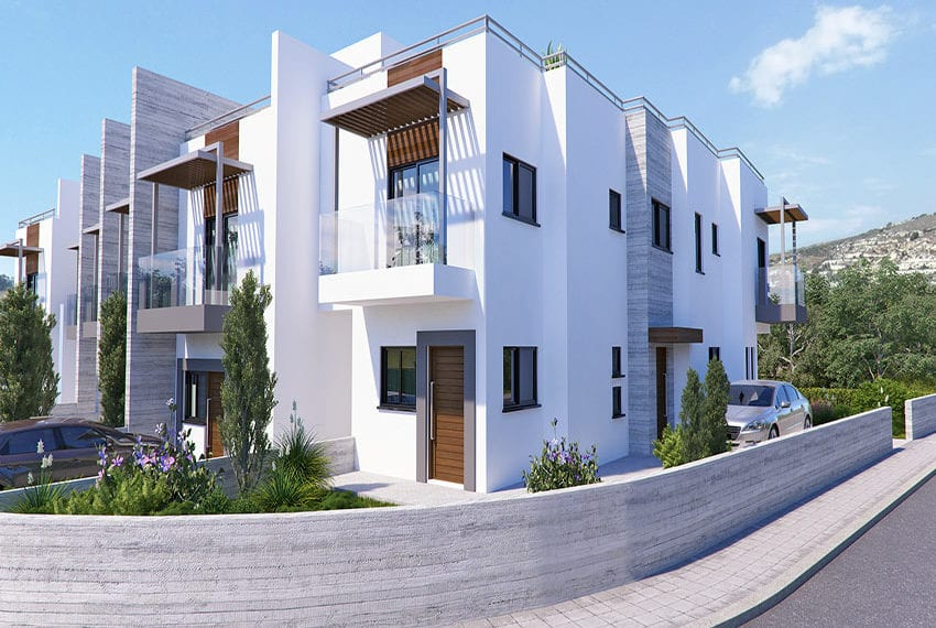 Town houses for sale in Cyprus, YEROSKIPOU-Paphos19
