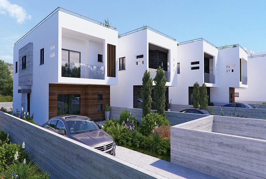 Town houses for sale in Cyprus, YEROSKIPOU-Paphos20