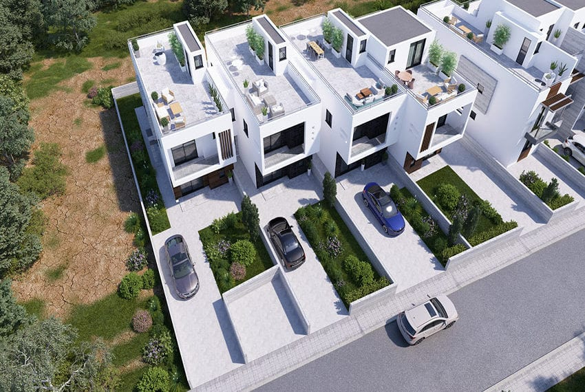 Town houses for sale in Cyprus, YEROSKIPOU-Paphos21
