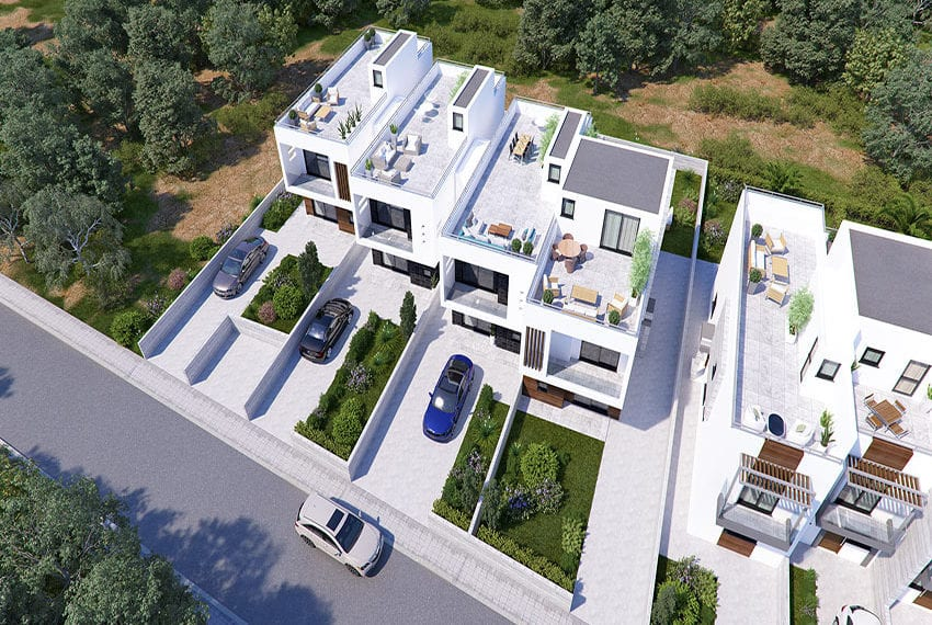 Town houses for sale in Cyprus, YEROSKIPOU-Paphos22