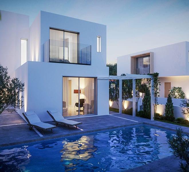 Luxury villas for sale in Paphos Cyprus