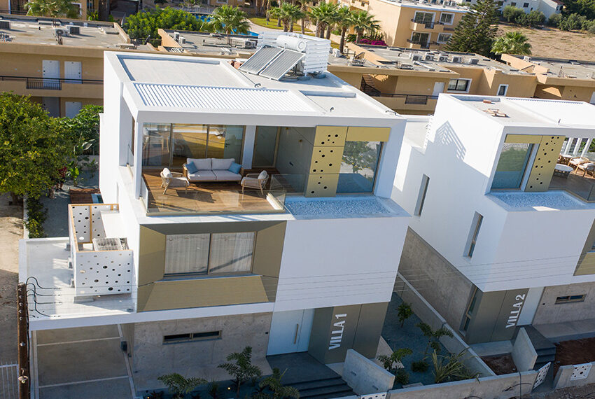 Luxury villa for sale in Paphos private pool with sea views1