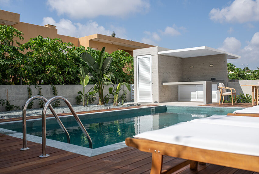 Luxury villa for sale in Paphos private pool with sea views6