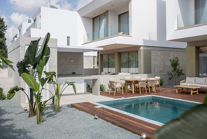 Luxury villa for sale in Paphos private pool with sea views7