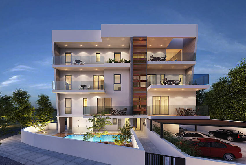 Luxury 1 bed apartment for sale in Pafos Cyprus_1