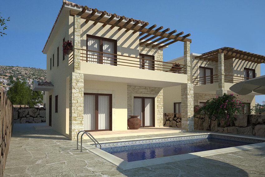 Project of 5 luxury villas for sale in Peyia Cyprus