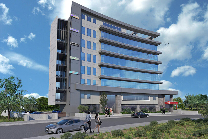Retail & office space for rent in commercial building Limassol _1