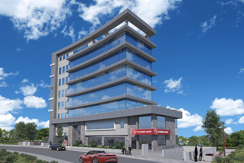Retail & office space for rent in commercial building Limassol _3