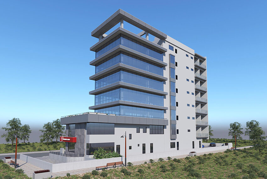 Retail & office space for rent in commercial building Limassol _4