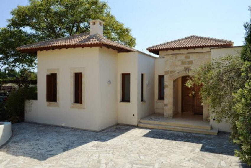 Aphrodite hills bungalow for sale large plot and private pool_7