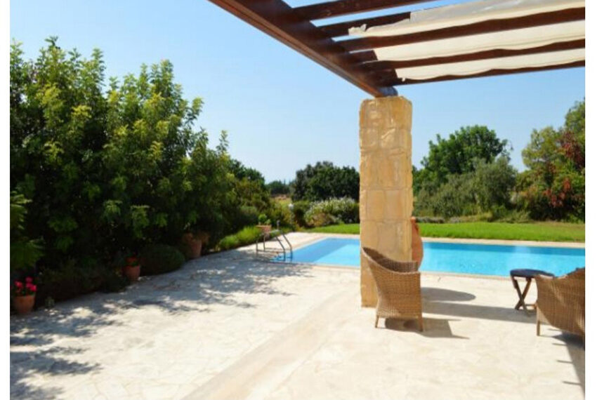 Aphrodite hills bungalow for sale large plot and private pool_10