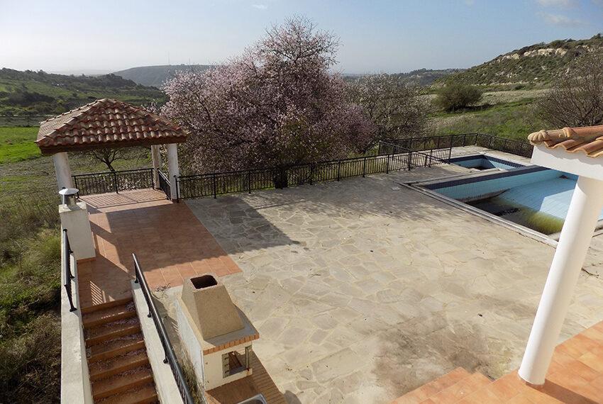 Halkyon villa for sale on large plot Marathunda Paphos_40