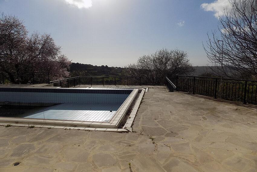 Halkyon villa for sale on large plot Marathunda Paphos_45
