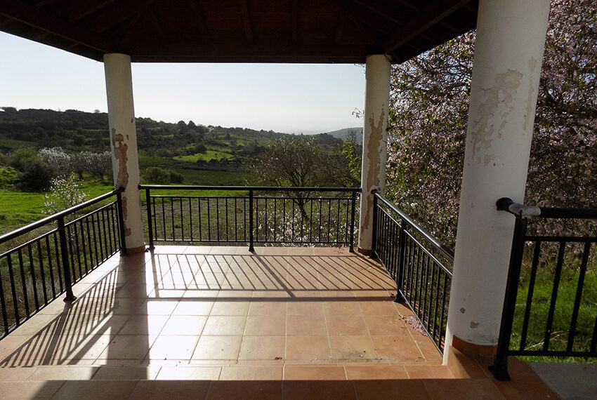 Halkyon villa for sale on large plot Marathunda Paphos_49