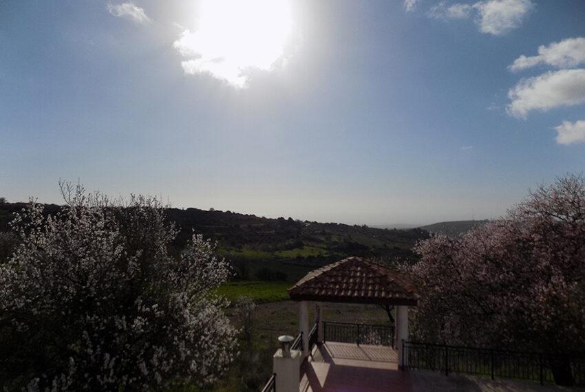 Halkyon villa for sale on large plot Marathunda Paphos_51