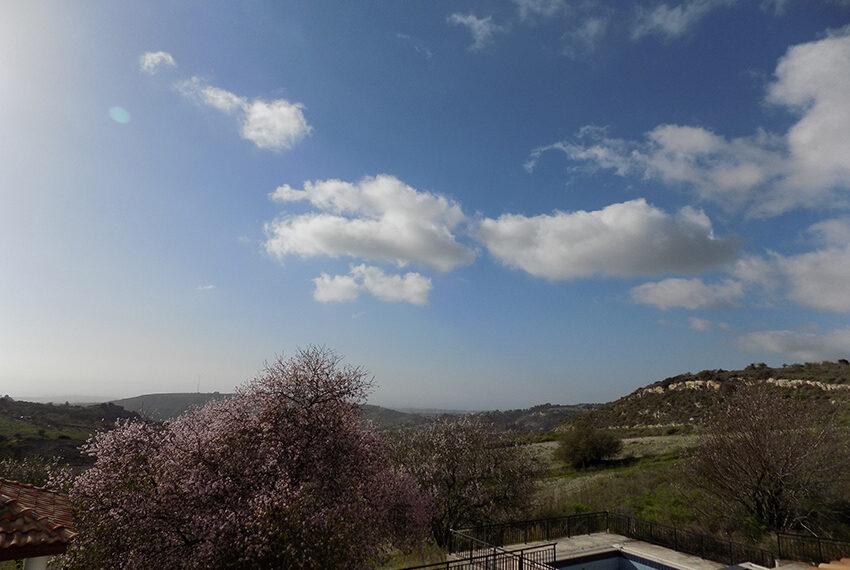 Halkyon villa for sale on large plot Marathunda Paphos_52