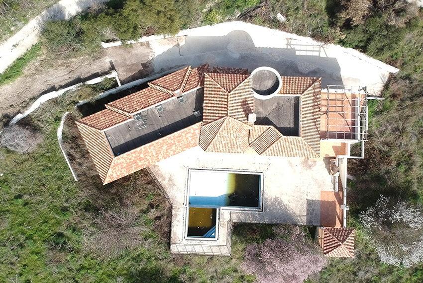 Halkyon villa for sale on large plot Marathunda Paphos