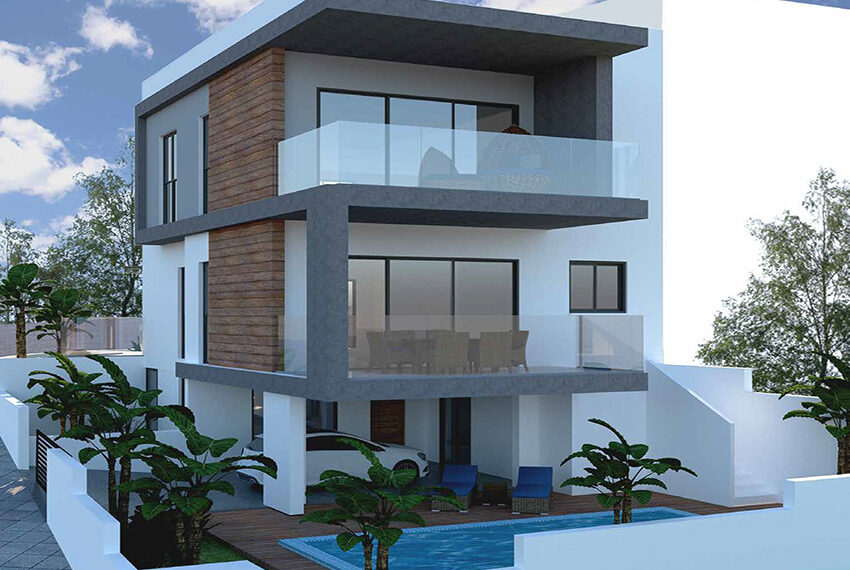 3 level 4 bed villa for sale with private pool Agia Phyla Limassol