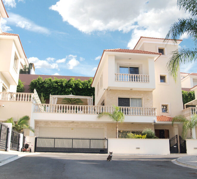 Modern 4 bedroom house for sale in Limassol Mouattagiaka