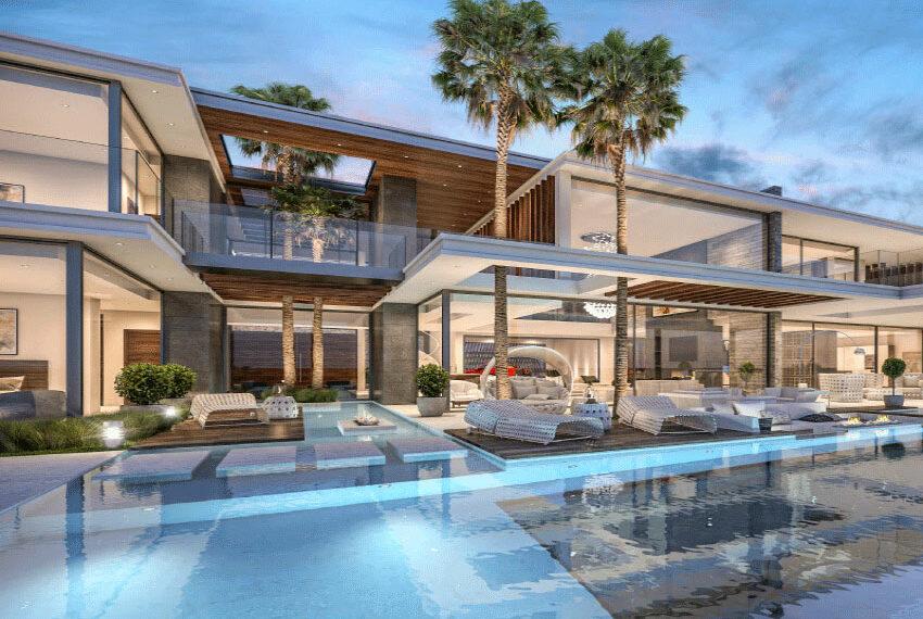 Luxury villa for sale off plan Limassol Mouttagiaka