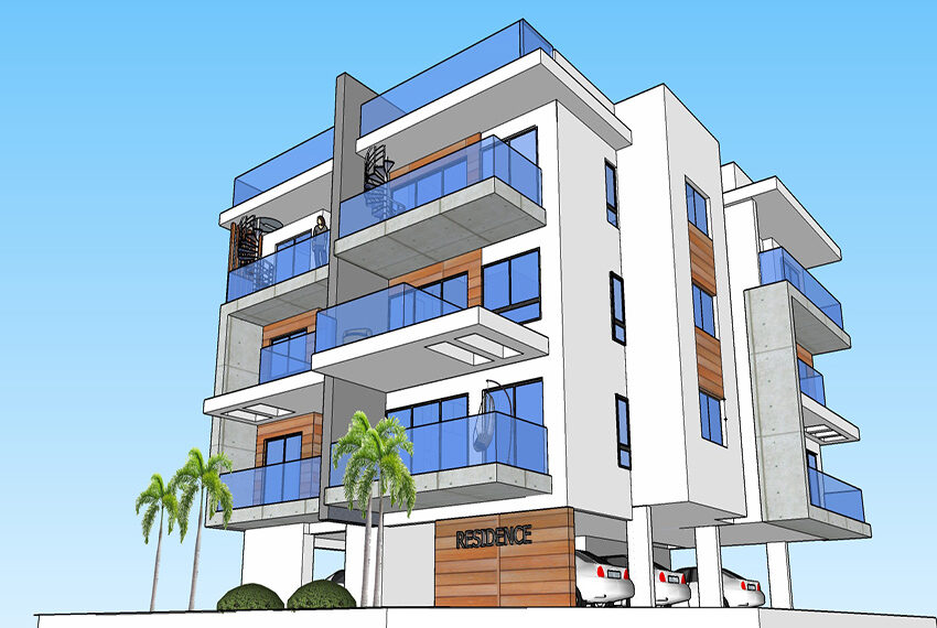 Off plan modern apartments for sale Limassol_1