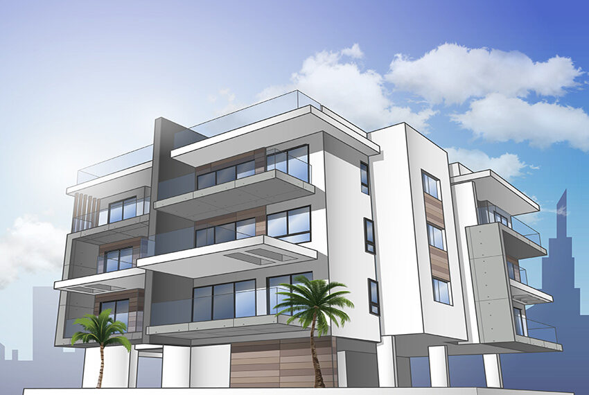Off plan modern apartments for sale Limassol_3