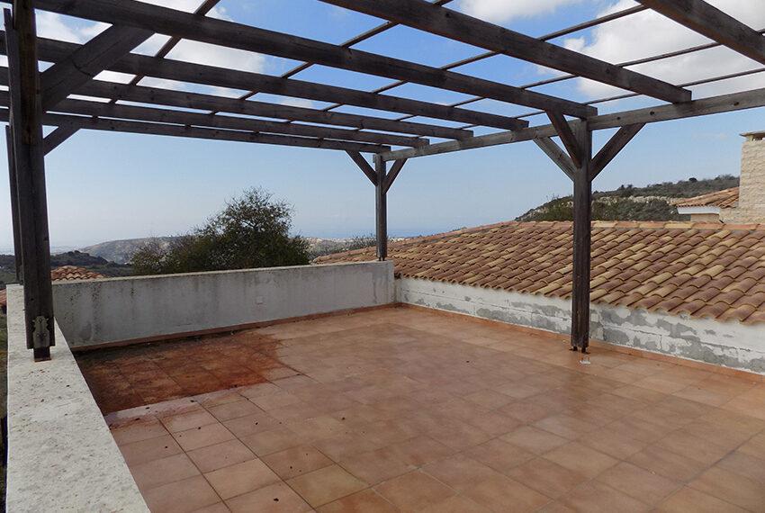 Halkyon villa for sale on large plot Marathunda Paphos_15