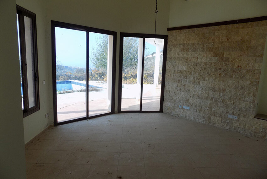 Halkyon villa for sale on large plot Marathunda Paphos_25