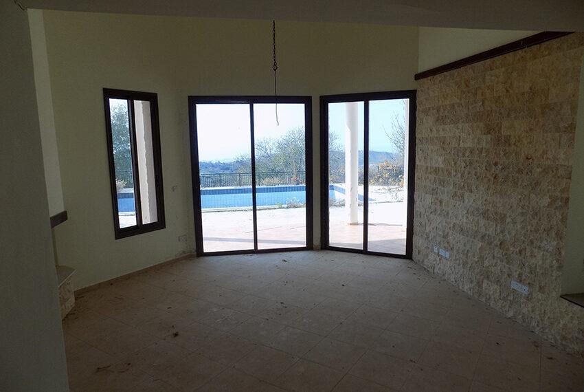 Halkyon villa for sale on large plot Marathunda Paphos_30