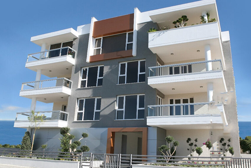 2 bedroom flat for sale with sea views in Limassol