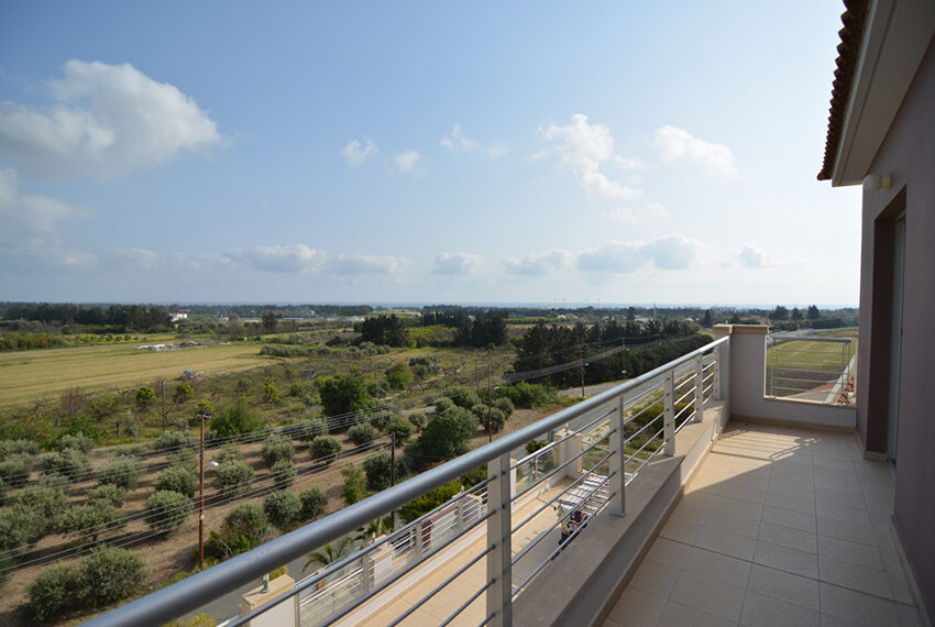 Sea view penthouse apartment for sale In Paphos Cyprus
