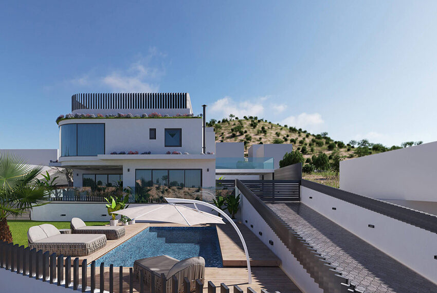 Luxury villa for sale with private pool Limassol Palodia