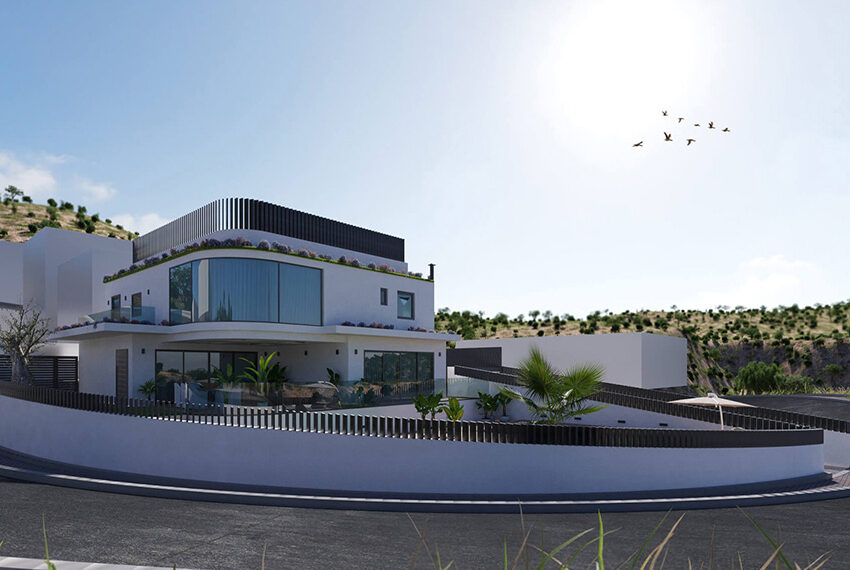 Luxury villa for sale with private pool Limassol Palodia_2