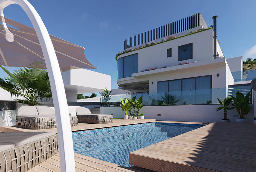 Luxury villa for sale with private pool Limassol Palodia_4