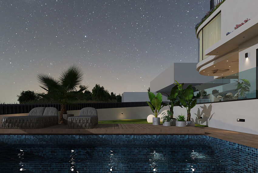 Luxury villa for sale with private pool Limassol Palodia_9