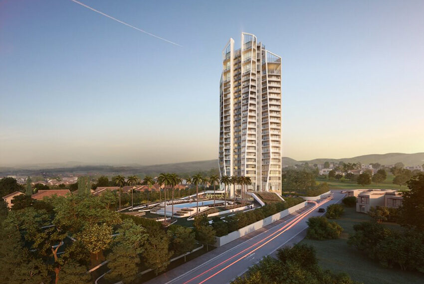 Sky Tower Limassol 1 bedroom apartment for sale_1