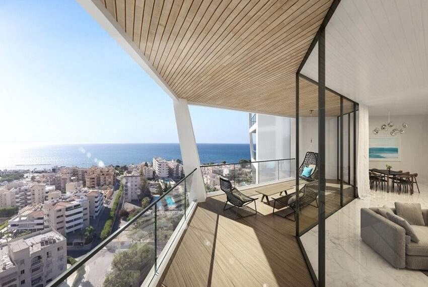 Sky Tower Limassol 1 bedroom apartment for sale_2