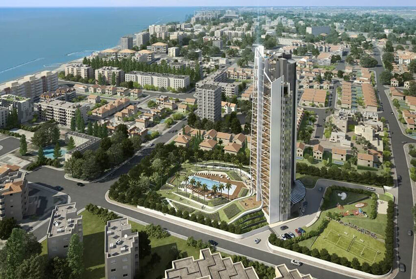 Sky Tower Limassol 1 bedroom apartment for sale_11