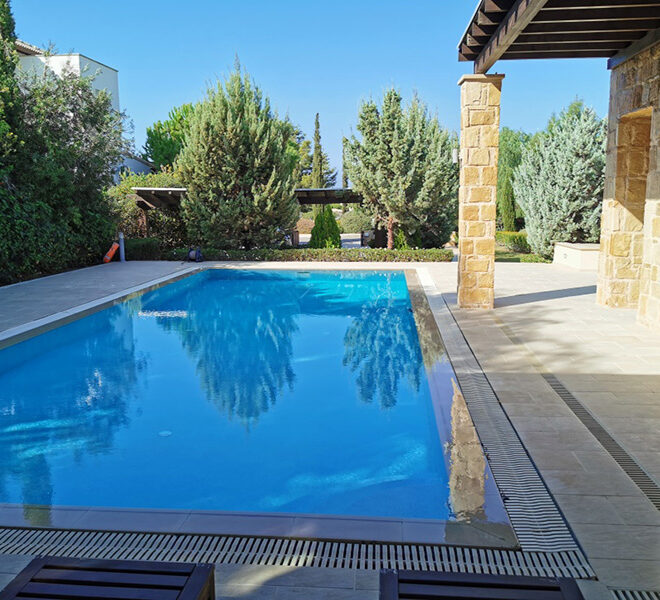 Luxury 4 bedroom villa for sale Aphrodite hills resort Cyprus