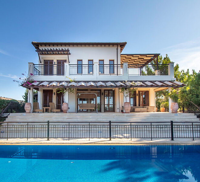 Luxury villa for sale with fantastic views Aphrodite hills Cyprus