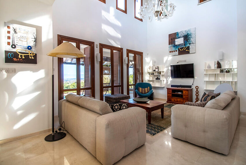 Luxury villa for sale with fantastic views Aphrodite hills Cyprus_9