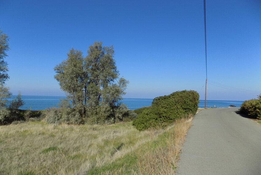 Beach front plot for sale in Agia Marina Cyprus_2