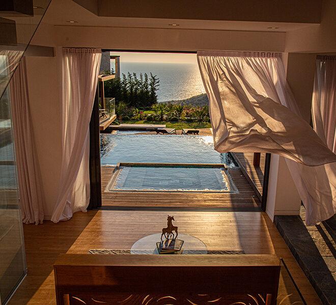 Luxury villa for sale with fantastic views Aphrodite hills resort Paphos