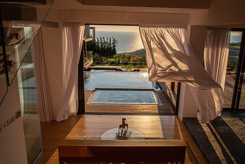 Luxury villa for sale with fantastic views Aphrodite hills resort Paphos_4