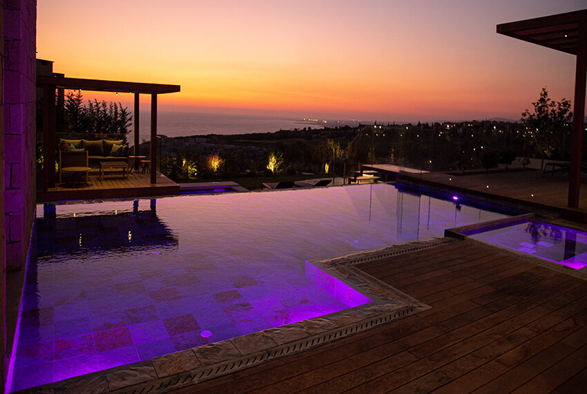 Luxury villa for sale with fantastic views Aphrodite hills resort Paphos_15
