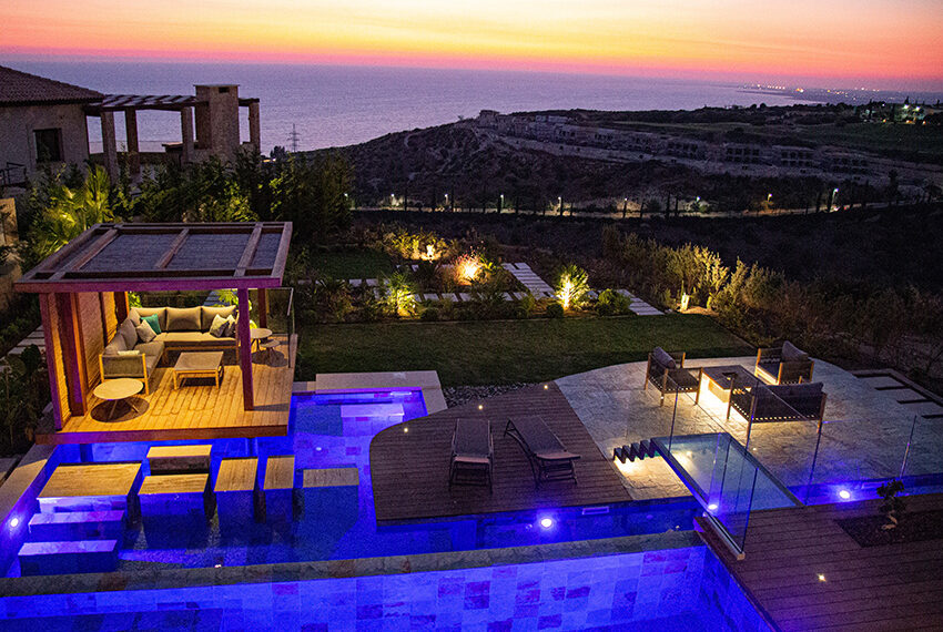 Luxury villa for sale with fantastic views Aphrodite hills resort Paphos_17